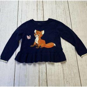 Baby GAP Disney Fox & the Hound toddler sweater